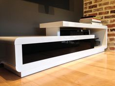 Contemporary Round Black White TV Stands From Pacini . Modern TV Stands Full Of Charm And Versatility.