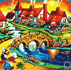 Art Embroidered Painting by Pokotilov Valeriy