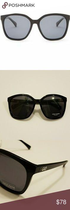 Cole Haan sunglasses Cole Haan women's oversized plastic Square Black sunglasses Cole Haan Accessories Sunglasses
