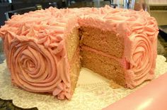Bake It With Booze!: Strawberry Daiquiri Cake