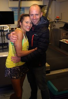 Susie with her husband and fellow runner, Shaun Marsden. http://www.kingston.ac.uk/news/article/1609/30-jan-2016-ultra-runner-susie-chan-sets-new-12hour-treadmill-world-record-at-kingston-university/