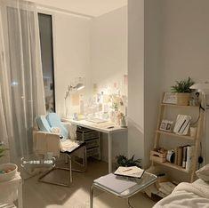Room Design Bedroom, Room Ideas Bedroom, Bedroom Decor, Study Room Decor, Small Room Design, Aesthetic Room Decor, Dream Rooms, House Rooms, Planer