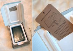 getting to know your kindle- packaging