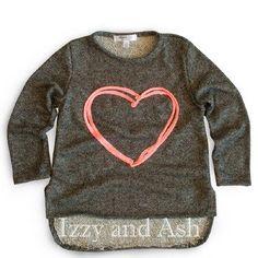 Joah Love Girls Heart Sweater