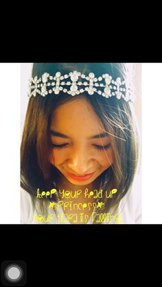 Cheer up quotes princess behr  hair accessories