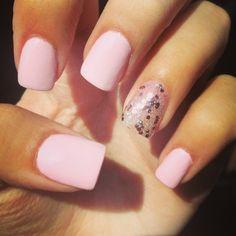 light pink acrylic nails tumblr pink and white acrylic nails Car ...