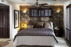 Bedroom shutters the perfect solution for your home. Offering the perfect light and shade solutions for your bedroom. Bedroom shutters make a room! Bedroom Shutters, Bedroom Windows, Window Shutters, Cosy, Interior Design, Inspiration, Furniture, Decoration, Home Decor