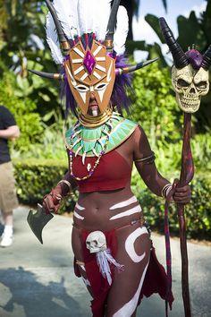 Witch Doctor, Diablo 3, photo by Onigun.