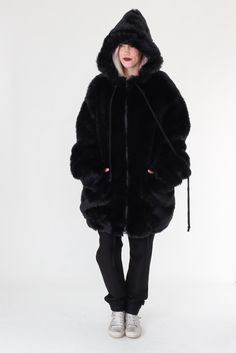Fake fur coat from Carl Ivar (son from Nelly Johansson) #carlivar #nellyjohansson #nelly #wintercoat #coat #fakefur #selectmodeonline