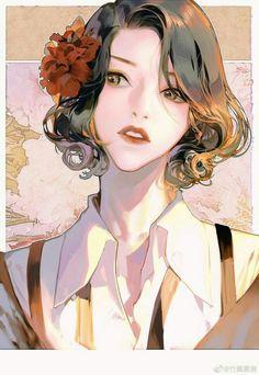 Cô công chúa của 1 gia tộc.  Nhìn trông vô hồn nhưng vẫn khát khao tì… #ngẫunhiên # Ngẫu nhiên # amreading # books # wattpad Anime Art Girl, Manga Art, Character Illustration, Illustration Art, Beautiful Anime Girl, Aesthetic Art, Anime Style, Cartoon Art, Cute Art