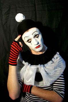 Motion Picture Make-up Department Le Clown, Clown Faces, Circus Clown, Creepy Clown, Nocturne, Pierrot Clown, Big Top Circus, Circo Vintage, Send In The Clowns