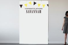 Big Top by Jennifer Wick at minted.com  Craft something like this for the shower/wedding?