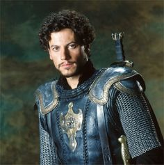 King Arthur - Oh. (Actually think he might be playing Lancelot? - Clive Owen was Arthur - and 'twiglet' Keira Knightley played Guinevere - as a Pictish warrior maiden! King Arthur Movie 2004, King Arthur Characters, Rei Arthur, Ioan Gruffudd, Joel Edgerton, Clive Owen, Fantasy Films, Fantasy Characters, Hugh Dancy