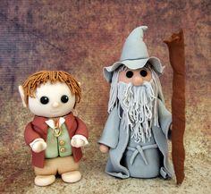 Your place to buy and sell all things handmade Bolo Hobbit, Hobbit Cake, The Hobbit, Gateau Harry Potter, Fondant Tutorial, Fondant Figures, Halloween Cakes, Sherlock Quotes, Sherlock John