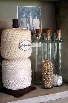 Just use as is for a creative display - add a cute label with push pins for interest!  ~ Mamie Jane's: Welcome To My Studio