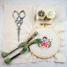 How to Get Started With Hand Embroidery Hand Embroidery, How To Get, Personalized Items