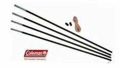 Lose or break a tent pole? No problem, with the Coleman Fiberglass Tent Pole Kit. The kit includes four poles that are long and in diameter, with metal ferrules; a long shock cord, a leader wire … Continue reading →