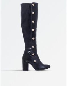 Carvela Waterloo studded leather boots