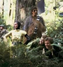 star wars Princess Leia Han Solo return of the jedi Episode VI Chewbacca harrison ford carrie fisher peter mayhew anthony daniels Star Wars Behind The Scenes Bb8 Star Wars, Star Wars Cast, Star Trek, Chewbacca, The Walking Dead, Funny Faces Pictures, Anthony Daniels, Star Images, Hash Tag