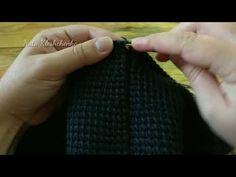 ТУНИССКОЕ ВЯЗАНИЕ*вяжем юбку*часть 9*сшиваем боковые швы и многое другое - YouTube