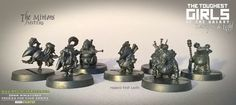 Fresh out of the Foundry, test casts of the Minions
