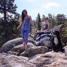 ➳We must have adventures in order to know where we truly belong➳ 😌💜🙏🏼 #yoga #hiking #mountains #getoutside #fitnessfashion #goonanadventure #mountaingirls #yogaeverydamnday #pilates #yogi #girlgetoutside #ootd #bestworkoutclothes #fitgirl #fitmom #yogagirl #yogini #yogaapparel #glyderapparel #fitfashion #namaste #worksweatplay