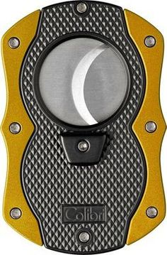 Colibri Monza Cutter - Black Pachmayr & Anodized Yellow - $43.95.  Promo Code: COLIBRI5 - 5% off all Colibri Products. Free Shipping. No Minimum. 24/7