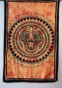 painel de tecido Ganesha batik, decoração indiana (2)