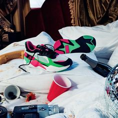 """af78dcf25 PUMA on Instagram: """"#FUTRO. If the past and the future had a 👶. RS-X  Tracks MTV, available in Europe now, coming soon to US.@highsnobiety"""""""