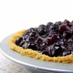 One Perfect Bite: Blueberry Glacé Pie - Blue Monday