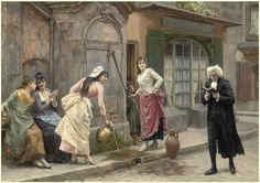 A distraction from studies Jules Girardet