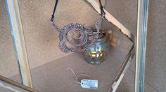 Ciondolo wire in alluminio color bronzo handemade free nichel