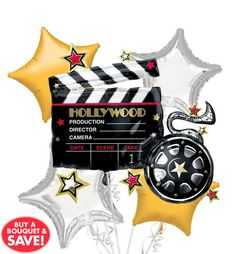 Hollywood Theme Party Balloons - Party City