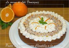 Ver el video de esta receta      El Pastel de almendra con Chantilly a la naranja les sorprenderá por su sabor y encantara a ...