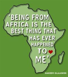 In celebration of Africa Day on May 25th.