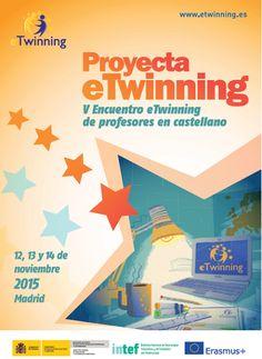 Nov 2015 - V Encuentro eTwinning de profesores en castellano 'Proyecta eTwinning'. Asistieron MIGUEL ÁNGEL LUCERO MORALES, del I.E.S. Almina, y TULA  (Mª José) FERNÁNDEZ MAQUEIRA, del I.E.S. Clara Campoamor.