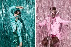 FOAM Tinsel Town by Julia Galdo Tinsel Town, Fashion Feature shot for Foam Magazine, 2012. JUCO.