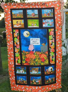 Great Pumpkin Quilt - just for me