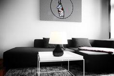 Amphora - handgemachte Designer-Lego-Lampe von Lesign in schwarz // Amphora - handmade Lego-Lamp/ Lego Lamp by Lesign
