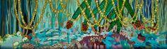 "Saatchi Online Artist Lia Porto; Painting, ""Pantano"" #art"