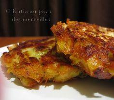 Croquettes aux poireaux (+ pomme de terre + fromage râpé + herbes)