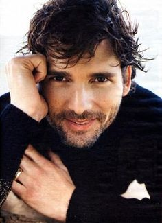 Eric Bana. Sometimes I pretend he's my husband and Ryan Gosling is my boyfriend on the side. Hmmmm.......