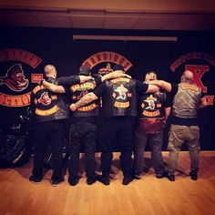 Bandidos Motorcycle Club, Motorcycle Clubs, Cut And Color, Sweden, Biker, Colours, Instagram, Biker Clubs
