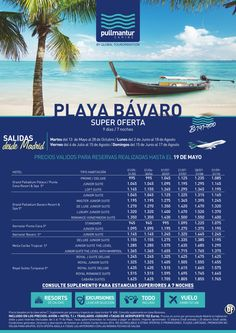 Super Oferta Cadenas 1 Playa Bávaro ultimo minuto - http://zocotours.com/super-oferta-cadenas-1-playa-bavaro-ultimo-minuto/