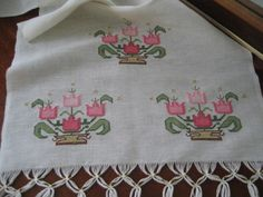 This post was discovered by Ayten İşler. Discover (and save!) your own Posts on Unirazi. Embroidery Needles, Cross Stitch Embroidery, Hand Embroidery, Cross Stitch Patterns, Embroidery Designs, Knitting Patterns, Palestinian Embroidery, Viking Tattoo Design, Point Lace