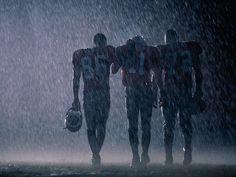 Football - through rain or shine