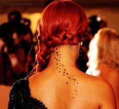 Cute tattoo and hair