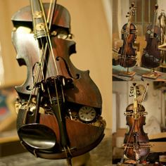 Mechanical Violins - Steampunk