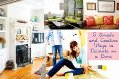 73 5 Simple and Creative Ways to Decorate on a Dime