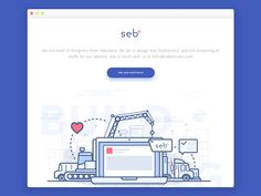Under Construction Website by Ibnu Mas'ud #Design Popular #Dribbble #shots
